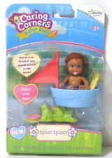 SPLISH SPLASH Boy Baby Buds Learning Curve Caring Corners Doll Figure Set NEW