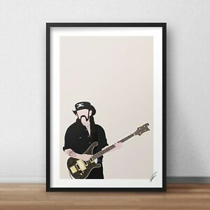 Lemmy INSPIRED WALL ART Print / Poster A4 A3 motorhead ace of spades