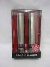 New Cole And Mason Mini Electronic Salt Pepper Mill Set H3057480 Chiswick