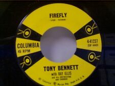 "TONY BENNETT ""FIREFLY / THE NIGHT THAT HEAVEN FELL"" 45 MINT"