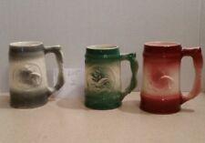 Vintage Anheuser Busch McCoy Ceramic Throw-Away Souvenir Mug Stein Budweiser (3)
