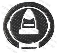 3D A GAS IN FIBRA DI CARBONIO TAPPO SERBATOIO COVER Pad Adesivo per Aprilia RSV 1000 4V 2009 HI-Q
