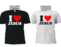 I Love Jesus Christians T-shirt Baseball Vest Men Women Unisex 2636