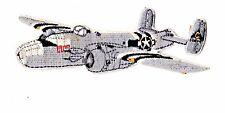 B-25 airplane medium size iron on patch