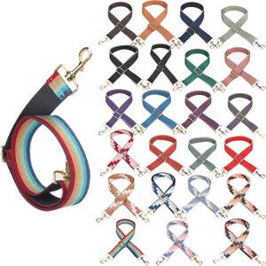 Colorful Rainbow Adjustable Shoulder Bag Strap Replacement Handbag Belt Handle