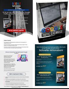 Google Traffic Geheimnisse - eBook, PLR Lizenz Komplettpaket, Brandneu
