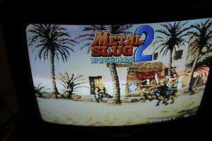Metal Slug 2 Neo Geo MVS SNK  Authentic Please Read