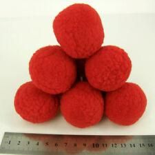 Rote Modelliermassen und Materialien