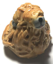 Vintage Whimsical Hand-Made Briard By White Dog Pottery 1998