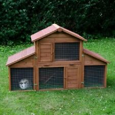 Outback Rabbit Guinea Pig Hutch Pet House With Run