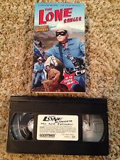 The Lone Ranger / The Lost Episodes - VHS Video Tape - Western TV Show - Classic