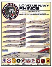 Furball Decals 1/48 McDONNELL DOUGLAS F-4 PHANTOM II U.S. NAVY LO VIZ RHINOS
