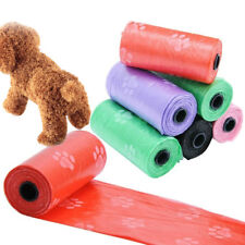 15PCS Roll Dog Poo Scented Biodegradable Poop Bags Leak Proof Pet Waste Bags