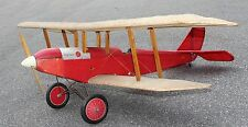 """""""Golden Oldie"""" 39 inch wing  RC Sport Biplane Model AIrplane Printed Plans"""