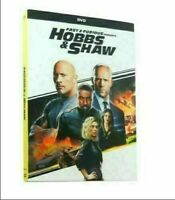Fast And Furious Presents HOBBS & SHAW DVD US seller New Sealed Free Shipping