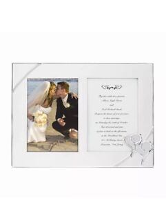 Lenox True Love Double Invitation Picture Frame