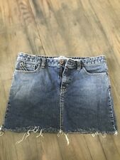 Gap Jean Skirt Size 11/12 Stretchy