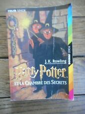 harry potter et la chambre des secrets édition Folio Junior TBE