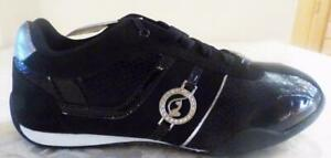 Baby Phat Hayden Black / Silver  Women's shoes fashion sneakers US size 6.5, M