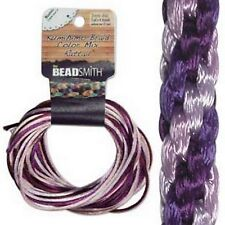 6 Yards 1MM RATTAIL LILAC (Free Shipping)