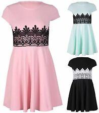 Women's Short/Mini Lace Dresses Plus Size