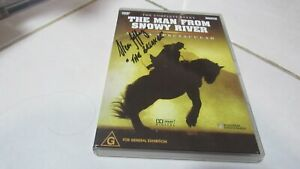RARE SIGNED !! The Complete Event Man From Snowy River Arena Spectacul-FREE POST