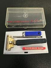 Vintage Ever Ready PAL Injecto-Matic Razor w/ Case