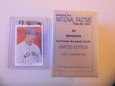 LOU GEHRIG 1985 America's National Pastime Card Serial #d 4867/5K MINT FREE SHIP