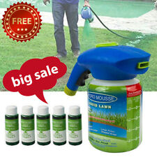 HYDRO MOUSSE HOUSEHOLD SEEDING SYSTEM LIQUID SPRAY SEED LAWN CARE GRASS b2