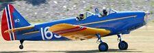 M-62/PT-19 Fairchild USA Trainer Airplane Mahogany Kiln Dry Wood Model Small New