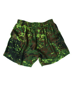 Camouflage Boxer Shorts Bw Camouflage Bundeswehr Erbsentarn Camo Size M Camo
