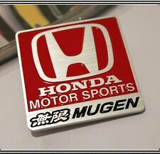 Mugen Badge Metal Emblem Sticker Logo Motor Sports Civic Integra JDM Type R S 15