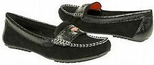 Libby Edelman Coast loafer black suede sz 6 Med NEW