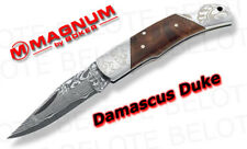 Boker Magnum Damascus Duke Folder Burl Wood 01MB946DAM