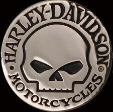 HARLEY DAVIDSON HUBCAP WILLIE G SKULL MAGNET