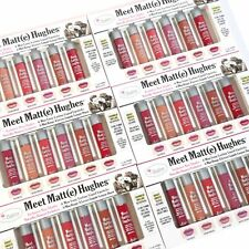 TheBalm Meet Matt(e) Hughes Mini Kit Liquid Lipstick Set 6 NEW EXCLUSIVE SHADES