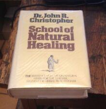 School of NATURAL HEALING John R Christopher HERBS Free US Shipping RARE 1979
