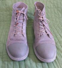 Men's Adidas X Tom Dixon Suede Hi Tops, UK 10, US 10.5, grey leather minimalist