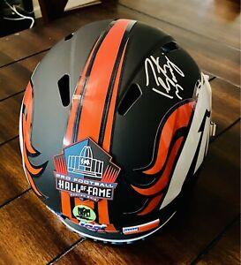 Peyton Manning Full Size Black Matte Rep Auto 🔥Denver Broncos 🔥 HOF '21