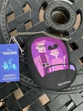 Disney Harveys Shag Haunted Mansion 50th Event Coin Purse Doom Buggy In Hand