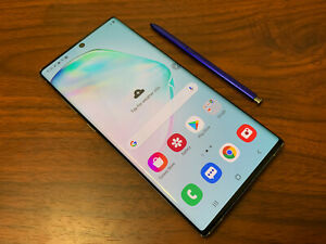 Samsung Galaxy Note10+ 5G SM-N976V - 256GB - Aura Glow (Verizon) READ DESCRIPT