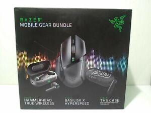 Razer Mobile Gear Bundle - 3 Piece Set - New/Sealed