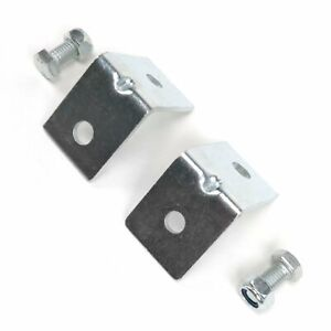 Chevy Truck 1973 - 1987 Angled Seat Belt Anchor Plate Hardware Pack GM GMC