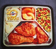 Retro Swanson TV Dinner Mouse Pad 50th Anniversary Fried Chicken Swanson's Years