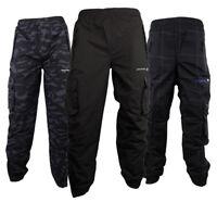 Junior Boys Location Waterproof Tracksuit Track Pants Bottoms Kids Pant School