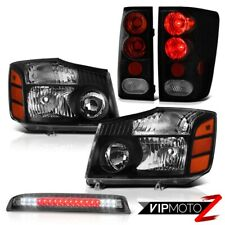 For 2004-2015 Titan LE Black HeadLamp Rear Signal Tail Lamp High Brake Cargo LED