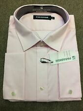 Paradigm Pure Cotton Non-Iron DC Formal Shirt/Soft Pink - 18.5""