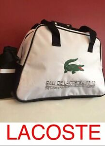 LACOSTE Weekend Bag Travel Gym Overnight Green Crocodile NEW AND SEALED 💙💙