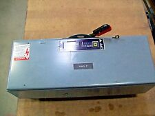 Square D QMB-324-W Fusible Panelboard Switch 200A 240Vac 3P Ser. E1 2 Open Ends