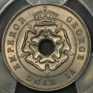 1937 PCGS MS64 SOUTHERN RHODESIA PENNY